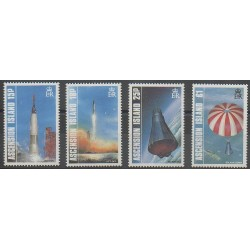 Ascension Island - 1987 - Nb 424/427 - Space