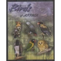 Malawi - 2003 - Nb 723/728 - Birds