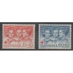 Danemark - 1964 - No 433/434 - Santé ou Croix-Rouge
