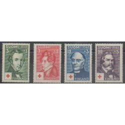 Finlande - 1948 - No 334/337 - Santé ou Croix-Rouge