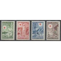 Finlande - 1949 - No 345/348 - Santé ou Croix-Rouge