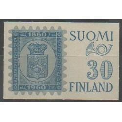 Finlande - 1960 - No 492 - Armoiries - Timbres sur timbres