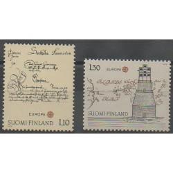 Finlande - 1979 - No 806/807 - Service postal - Europa
