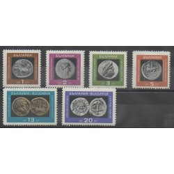 Bulgaria - 1967 - Nb 1489/1494 - Coins, Banknotes Or Medals