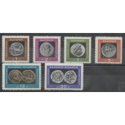 Bulgarie - 1967 - No 1489/1494 - Monnaies, billets ou médailles