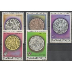 Hongrie - 1979 - No 2683/2687 - Monnaies, billets ou médailles