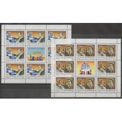 Yougoslavie - 1992 - No 2425/2426 petites feuilles - Échecs