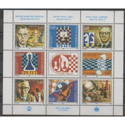 Yougoslavie - 1995 - No 2583/2590 - Échecs