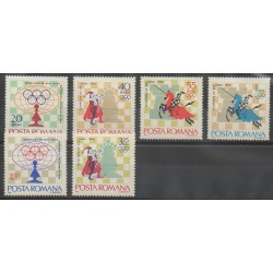Roumanie - 1966 - No 2193/2198 - Échecs