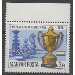 Hongrie - 1979 - No 2653 - Échecs