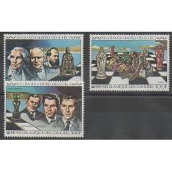 Comores - 1979 - No 313/314 - PA174 - Échecs