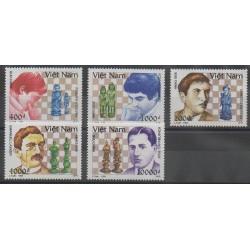 Vietnam - 1994 - No 1434/1438 - Échecs