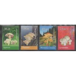 Kyrgyzstan - 2011 - Nb 557/560 - Mushrooms