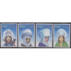 Kyrgyzstan - 2012 - Nb 582/585 - Costumes