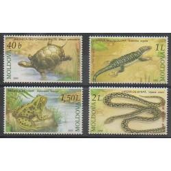 Moldova - 2005 - Nb 453/456 - Reptils
