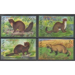 Moldova - 2006 - Nb 484/487 - Mamals