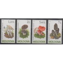 Moldavie - 2010 - No 607/610 - Champignons