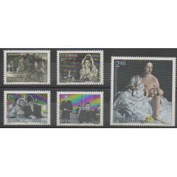 Suède - 1981 - No 1150/1154 - Cinéma