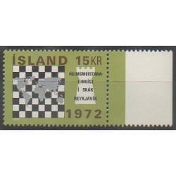 Islande - 1972 - No 417 - Échecs