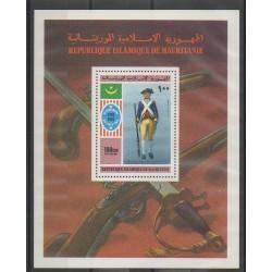 Mauritania - 1975 - Nb BF14 - Military history