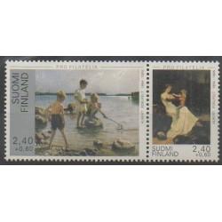 Finlande - 1995 - No 1257A - Peinture