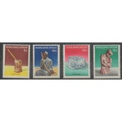 Netherlands Antilles - 1962 - Nb 311/314