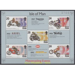 Man (Ile de) - 1992 - No BF 21 - Motos