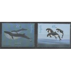 Angola - 2003 - No 1557/1558 - Mammifères - Animaux marins