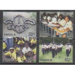 Angola - 2007 - Nb 1619/1622 - Scouts