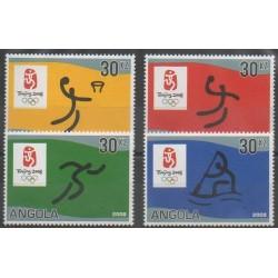 Angola - 2007 - No 1623/1626 - Jeux Olympiques d'été