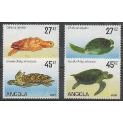 Angola - 2007 - Nb 1629/1632 - Reptils