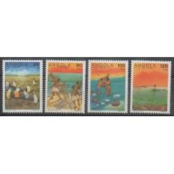 Angola - 1992 - No 871/874 - Artisanat ou métiers