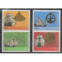 Angola - 1991 - No 838/841 - Navigation