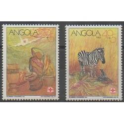 Angola - 1991 - No 836/837 - Santé ou Croix-Rouge