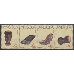 Angola - 1991 - No 820/823 - Musique
