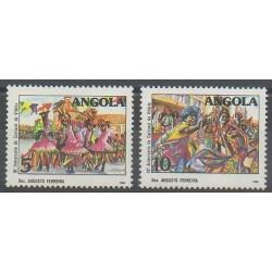 Angola - 1988 - No 749/750 - Folklore