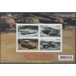 Saint-Pierre and Miquelon - Blocks and sheets - 2015 - Nb 1133/1136 - Cars