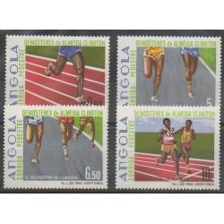 Angola - 1985 - Nb 711/714 - Various sports