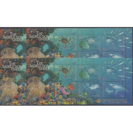 Australia - 1995 - Nb BF 34/BF 37 - Fishes