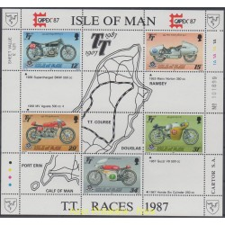 Man (Ile de) - 1987 - No BF 9 - Motos
