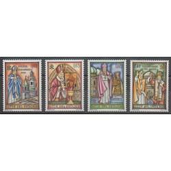 Vatican - 2007 - No 1446/1449 - Papauté