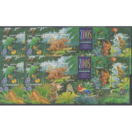 Australia - 1994 - Nb BF24/BF27 - Animals