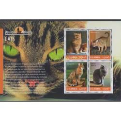 Uganda - 2014 - Nb 2630/2633 - Cats