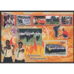 Angola - 2007 - No BF120 - Scoutisme