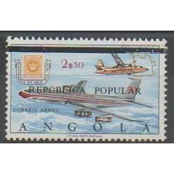 Angola - 1980 - Nb PA27 - Planes