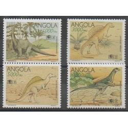 Angola - 1994 - No 930/933 - Animaux préhistoriques