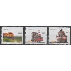 Angola - 2004 - No 1582/1584 - Chemins de fer