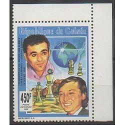 Guinée - 1991 - No PA263 - Échecs