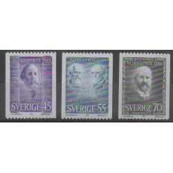 Suède - 1970 - No 678/680 - Célébrités