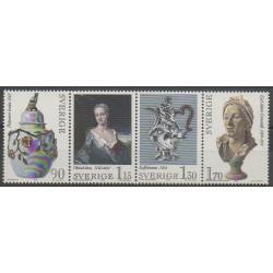 Suède - 1979 - No 1065/1068 - Art